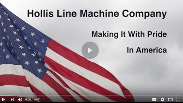 Hollis Line Machine Company Video